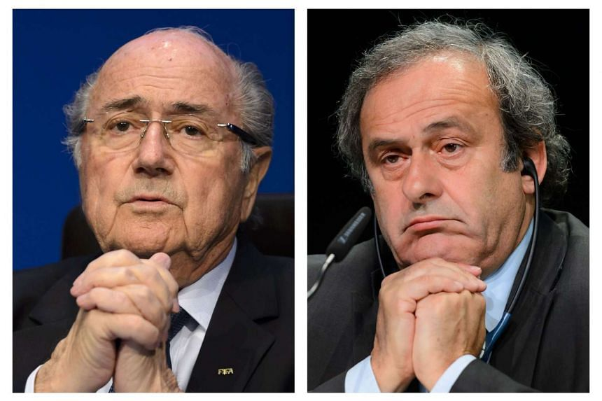 The Fifa ethics committee has requested sanctions against Sepp Blatter (left) and Michel Platini.