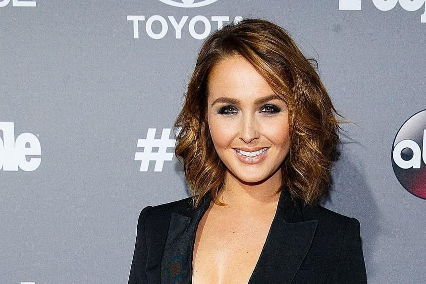 Camilla Luddington.