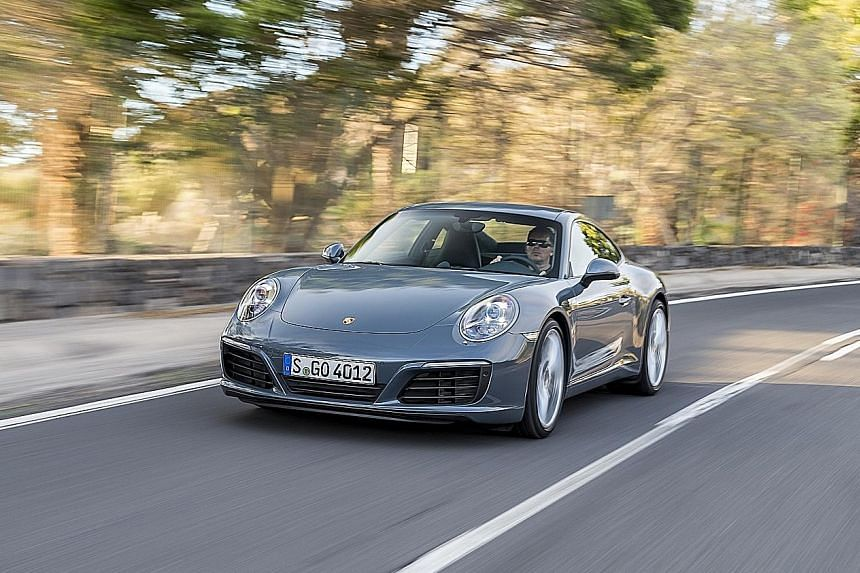 The revised Porsche 911 is not just quick from point to point, but also stable and precise around corners.