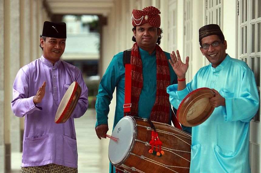 Participants will be cheered on by the percussion sounds of the Malay kompang and South Indian drums during the Jubilee Big Walk.