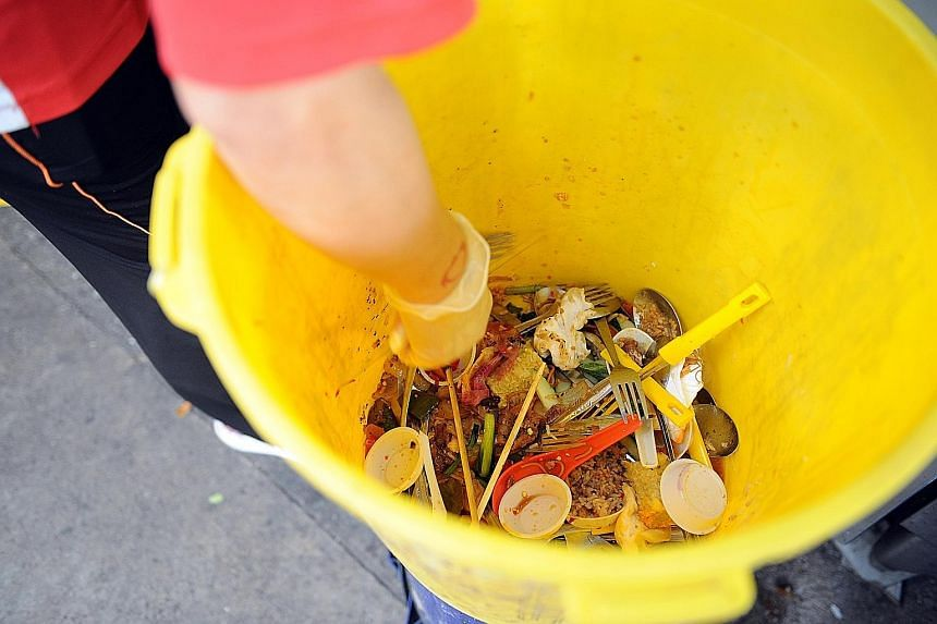 A survey of 1,016 people conducted from January to July this year found that 80 per cent of respondents are bothered about having to throw food away.