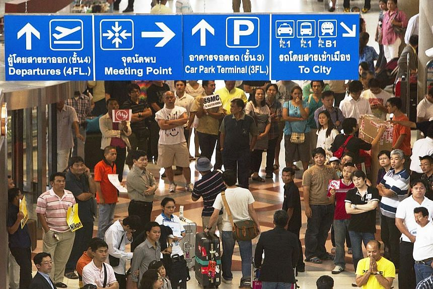 Suvarnabhumi Airport in Bangkok has a capacity of 45 million passengers a year. But in the 12 months to September, it handled 52 million passengers, resulting in a big squeeze.