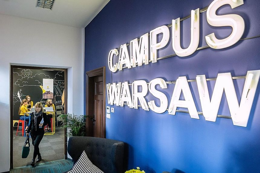 Google's facility in Warsaw is one of five tech hubs the IT giant has created worldwide, with a sixth planned to open in Sao Paulo, Brazil next year. Google Europe president Matt Brittin said the moment is now for start-ups to think about the five bi