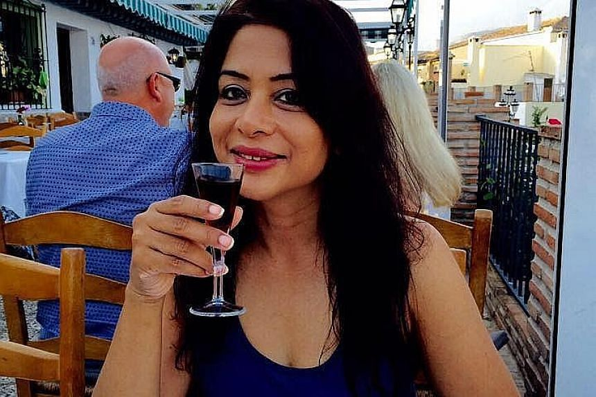 Former Star India chief executive Peter Mukerjea is said to have destroyed evidence and lied to investigators to protect his wife Indrani (right), who is accused of murdering her 22-year-old daughter from a previous relationship.