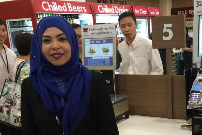 Ms Alimah Md Yusof, senior manager of operations audit at Cold Storage, started off as a cashier.