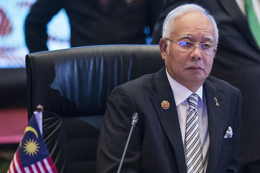 Malaysia Prime Minister Najib Razak during the plenary session of the ASEAN summit in Kuala Lumpur, Malaysia, on Nov 21, 2015.