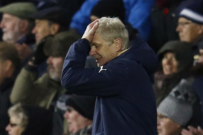 """Arsenal manager Arsene Wenger described Arsenal's 2-1 defeat at West Bromwich Albion as the """"perfect nightmare""""."""