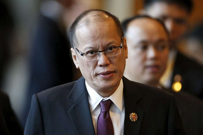 Philippines President Benigno Aquino arrives at a session of the 27th Asean Summit in Kuala Lumpur, Malaysia on Nov 21, 2015.