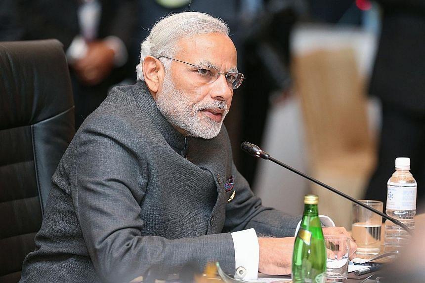 Mr Narendra Modi said he was pleased Asean-India trade had grown in 2014-2015