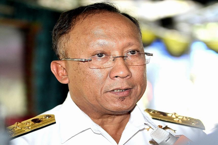 TAN SRI ABDUL AZIZ JAAFAR , on the decision to offer China's navy the use of Kota Kinabalu's port
