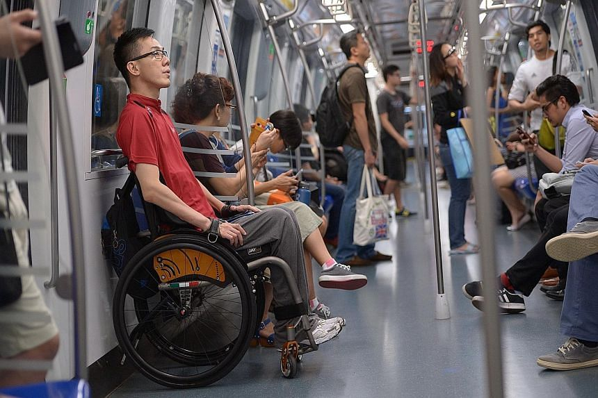 """There are no short cuts in life or in sport for Eric Ting, a wheelchair racer who has since turned to table tennis. """"When you don't have a choice, you learn the hard way,"""" he says of his physical limitations."""