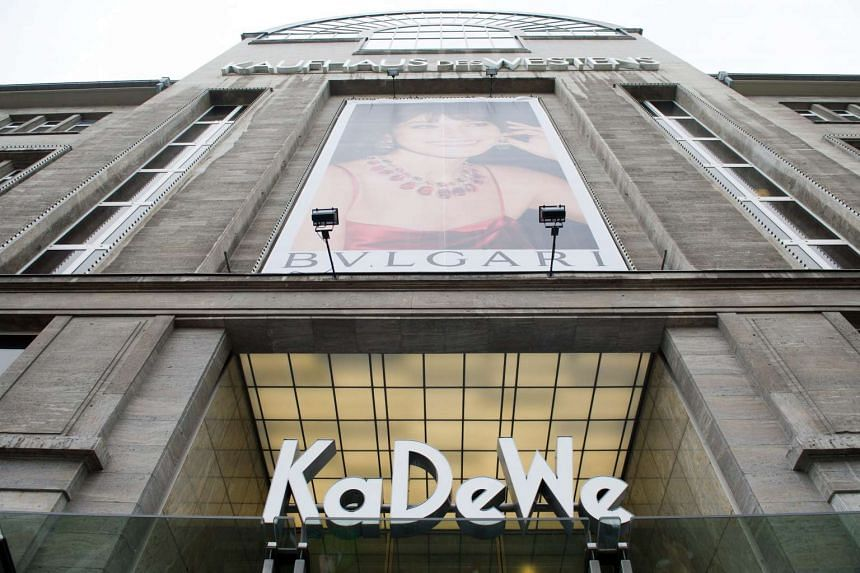 Berlin's famous KaDeWe ('Kaufhaus des Westens', 'Department Store of the West').