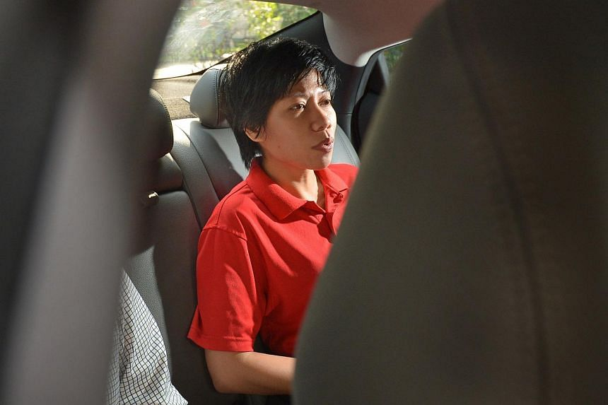 Malaysian Woo Mui Mee, 34, was charged in court on Monday (Nov 23) with causing hurt to 76-year-old William Wong.