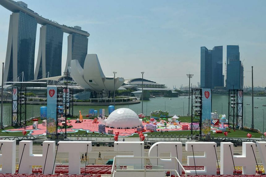 The SG Heart Map Festival will take place at the Marina Bay floating platform from Nov 26-29, 2015.