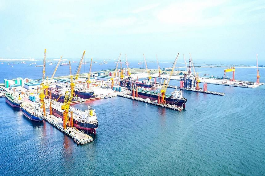 Persistent market headwinds have not been kind to the marine and energy plays in Singapore, such as Sembcorp Marine, which has pared some 16 per cent in the past month to $2.14 at last close. The firm was also hit by Marco Polo Marine's cancellation