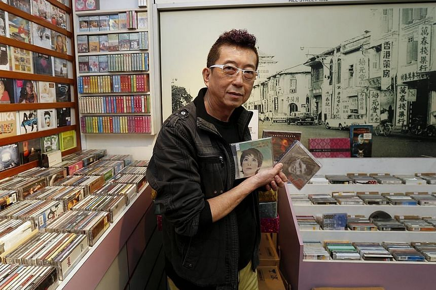 Mr Paul Lim, owner of Roxy Records & Trading, said his store is being kept afloat by a niche customer base. It carries music from local artists and sells tickets to their concerts.