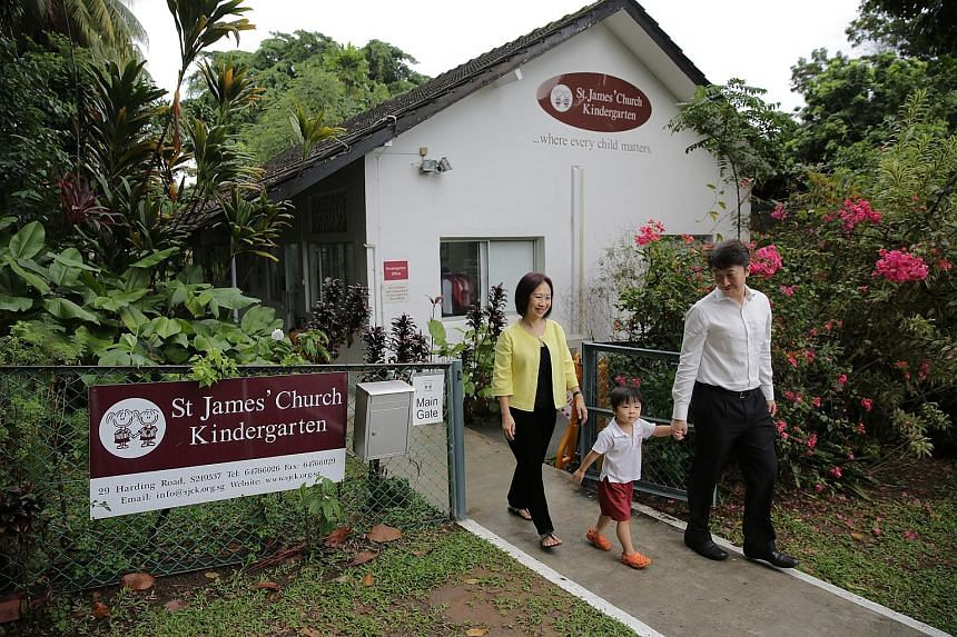 St James' Church Kindergarten outbid other brand-name pre-schools to win the tender for the Harding Road site. The new lease starts in 2017.
