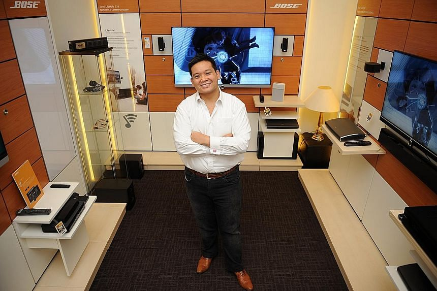 """Mr Sherwin Siregar gave up a well-paying role at a multinational firm to become """"employee no. 33"""" at Atlas, and was its first hire in the marketing department. The opportunity and challenge to help transform the family- owned company into a more corp"""