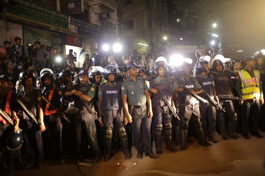 Thousands of extra police and border guards were deployed in Dhaka and other major cities and towns after Ali Ahsan Mohammad Mujahid and Salahuddin Quader Chowdhury were hanged at Dhaka's Central Prison yesterday.