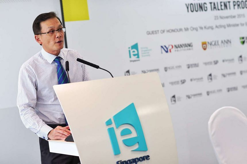 Mr Teo Eng Cheong, Chief Executive Officer, IE Singapore.