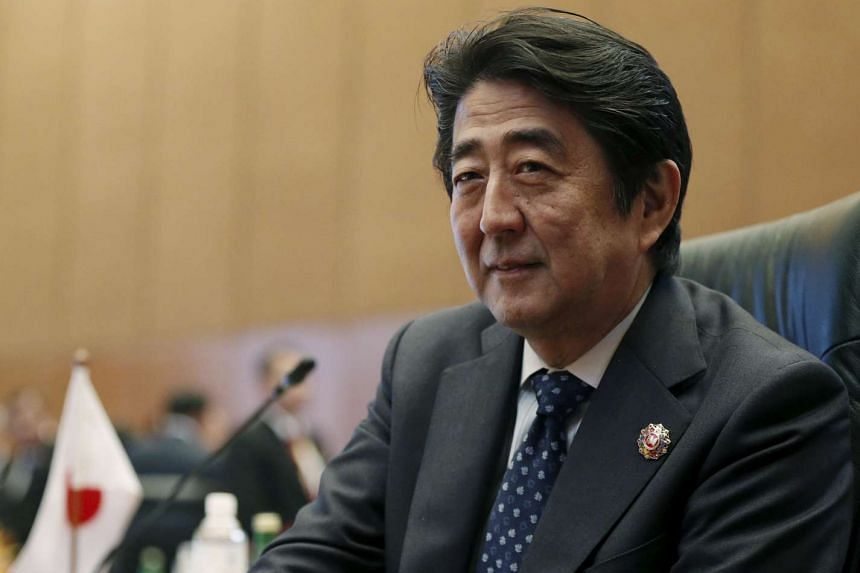 Japanese Prime Minister Shinzo Abe at the 18th Asean-Japan summit in Kuala Lumpur.