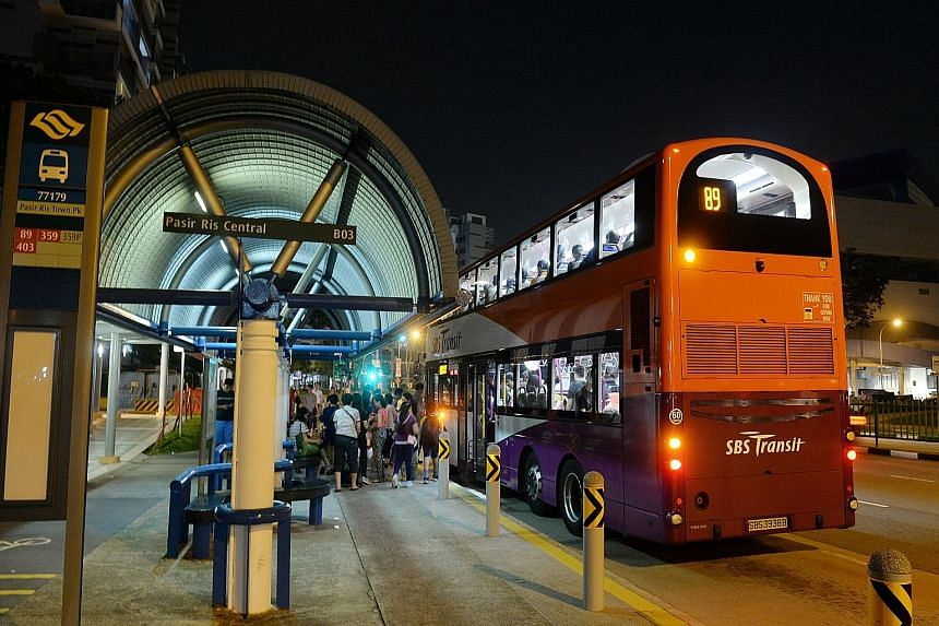 Go-Ahead Group beat firms including SBS Transit and SMRT to clinch the Loyang package of 25 bus services in Pasir Ris and Punggol - three new services and 22 existing ones now run by SBS Transit.