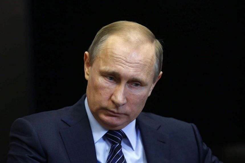 Russian President Vladimir Putin called the shooting of a Russian warplane on the Syrian border 'a stab in the back'.