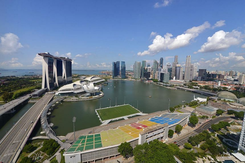 Singapore's GDP grew a revised 1.9 per cent in the third quarter on an annualised basis.