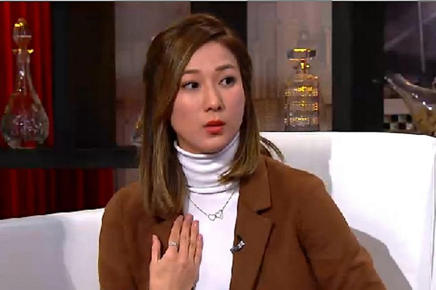TVB star Linda Chung recounting the incident in an episode of the talk show Wanna Bros.