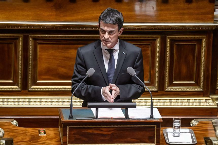 French Prime Minister Manuel Valls said that Europe cannot accomodate any more refugees.