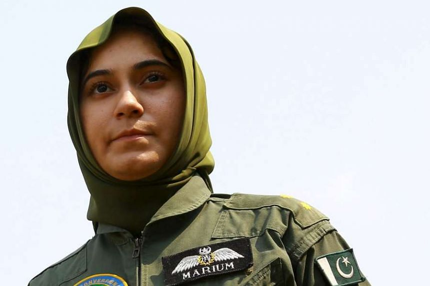 Flying Officer Marium Mukhtiar as killed in a training accident.