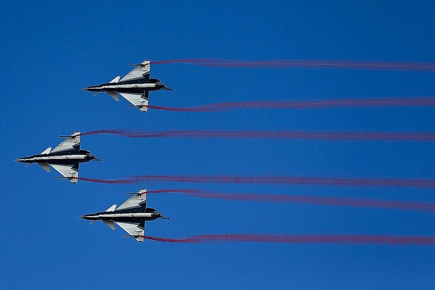 Thai military, China hold joint air show, SE Asia News & Top Stories