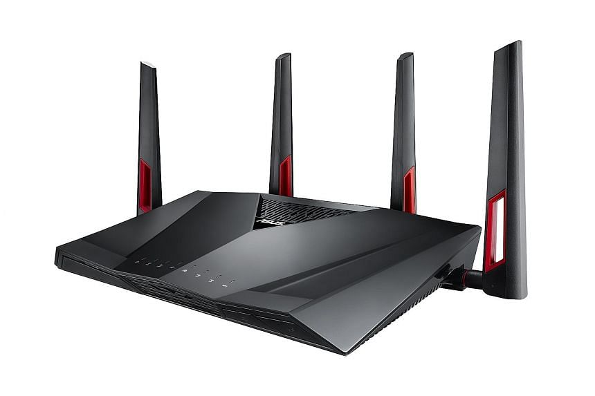 A router for gamers who want Ethernet