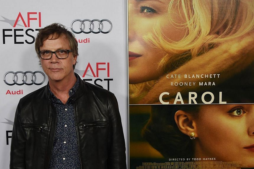 Film director Todd Haynes arrives for the special screening of Carol during the AFI FEST 2015 on Nov 8, 2015.