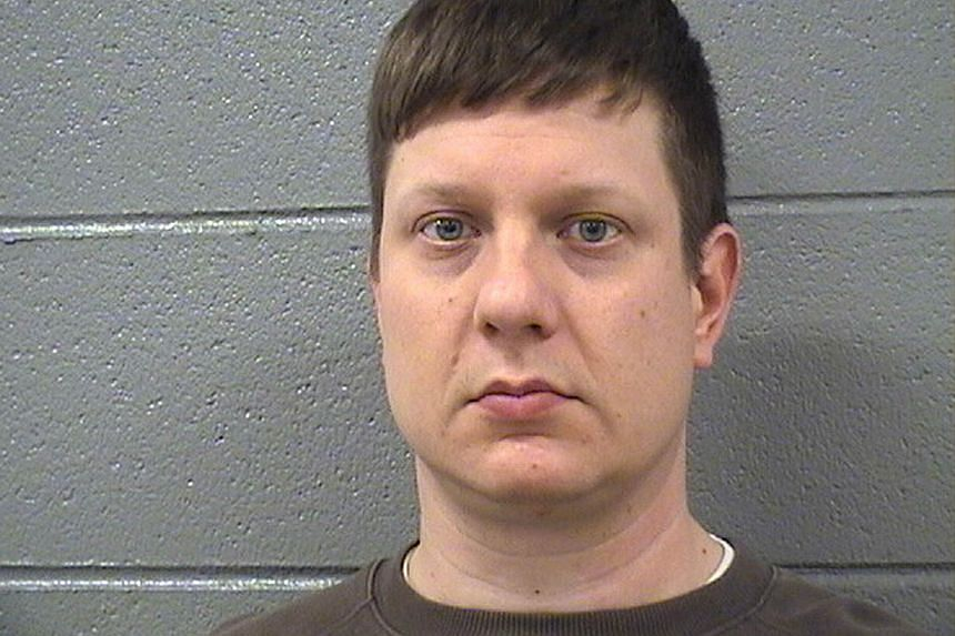 Chicago police officer Jason Van Dyke.