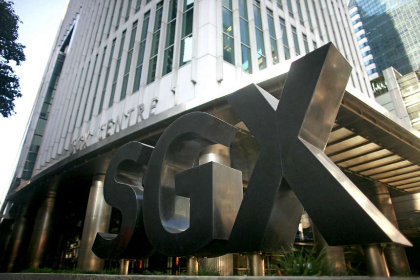 The Singapore Exchange office.