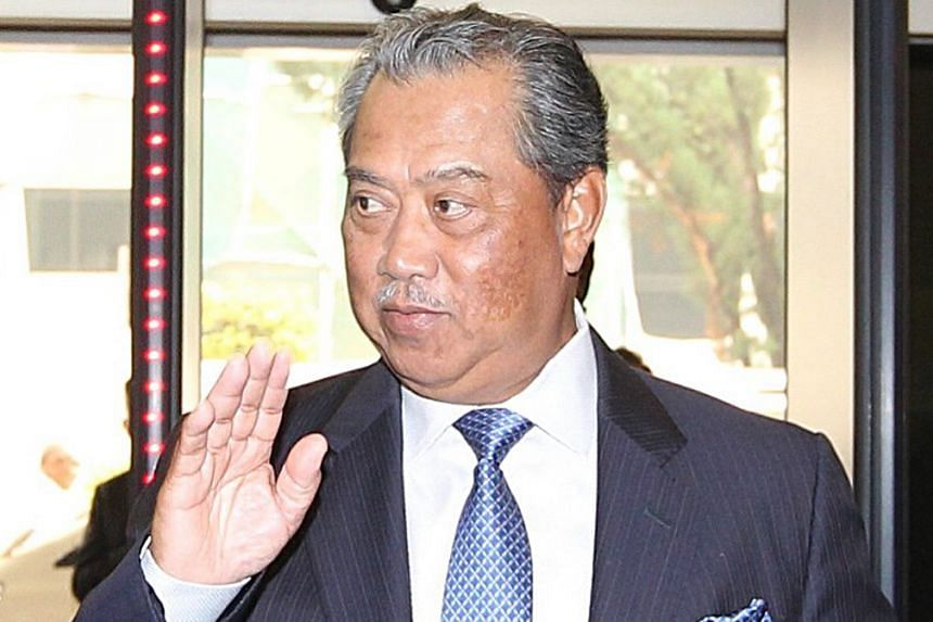 Umno deputy president Muhyiddin Yassin (above) and vice-president Shafie Apdal. There had been talk that the party would axe or suspend both men.
