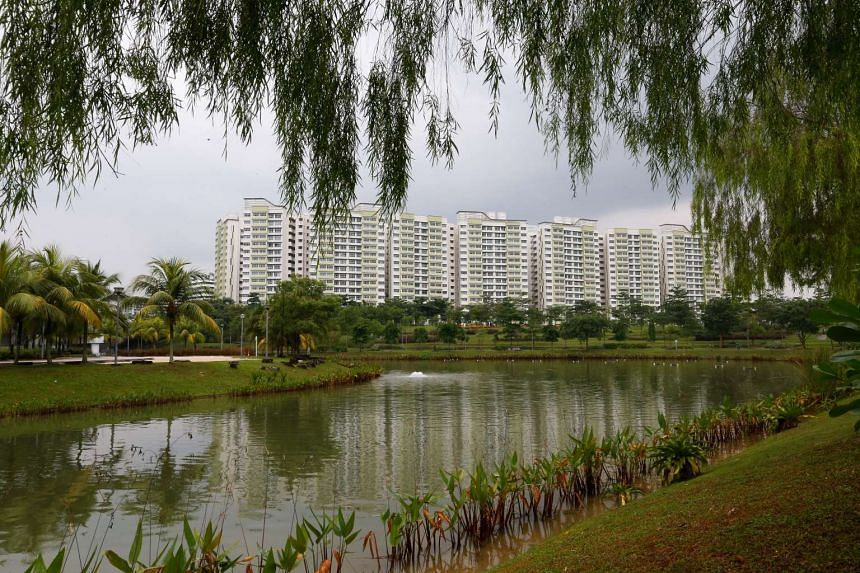 Punggol Waterway, where a man drowned during a police operation on Nov 24, 2015.