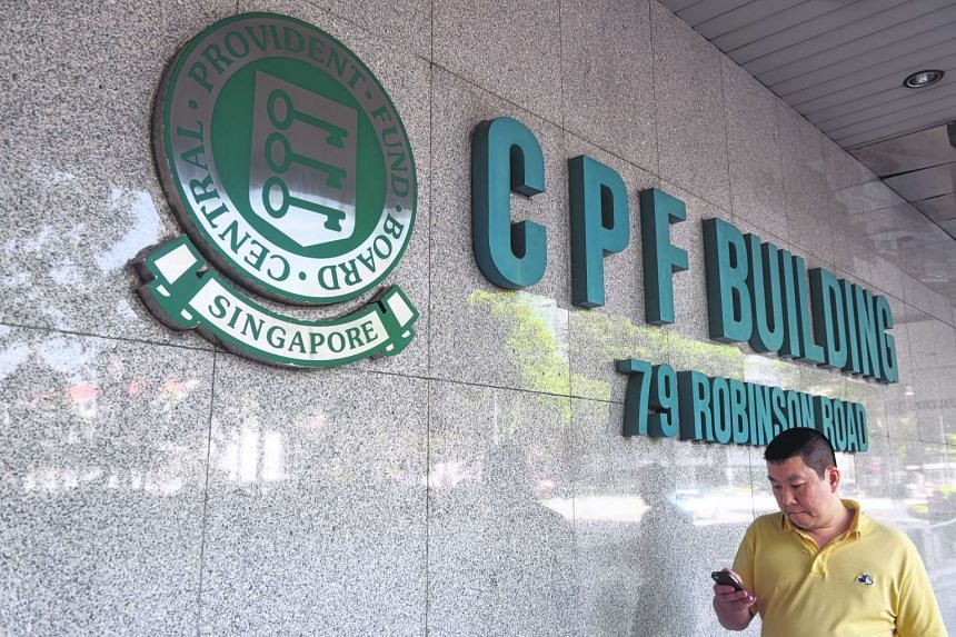 CPF Building at 79 Robinson Road.