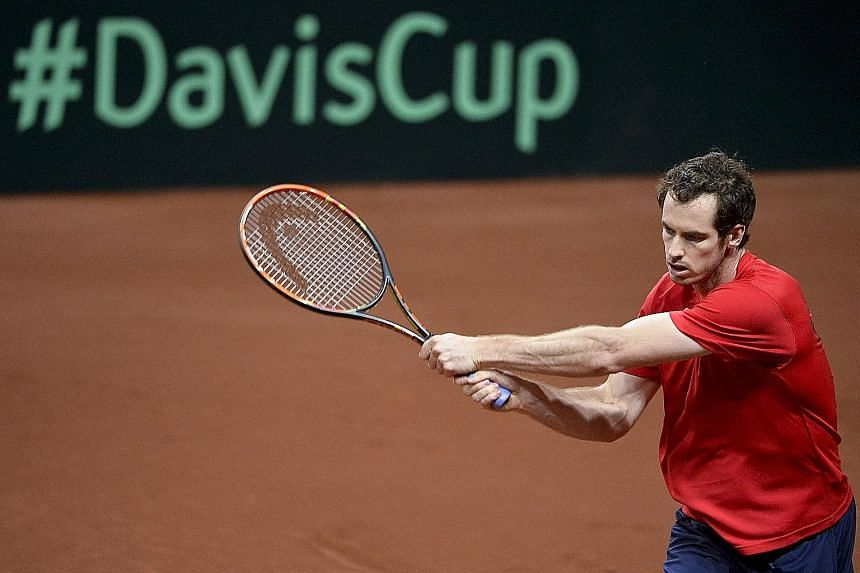 Britain will count on Andy Murray winning both his singles ties against Belgium to clinch their 10th Davis Cup win.