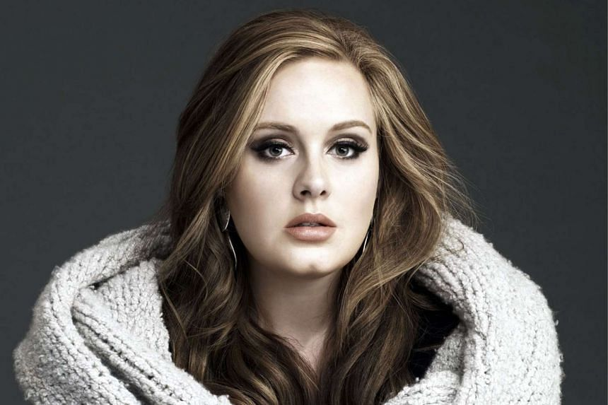 Subscribers to Adele's (above) website will be sent instructions on Sunday on how to order tickets.