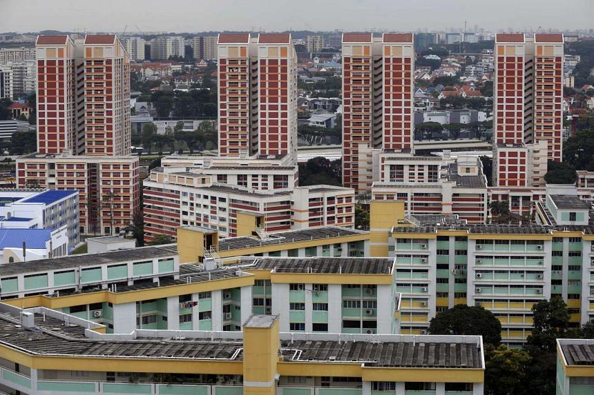 HDB flats in Bishan.