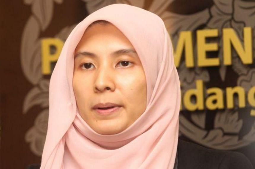 Malaysia's opposition Parti Keadilan Rakyat MP Nurul Izzah Anwar.