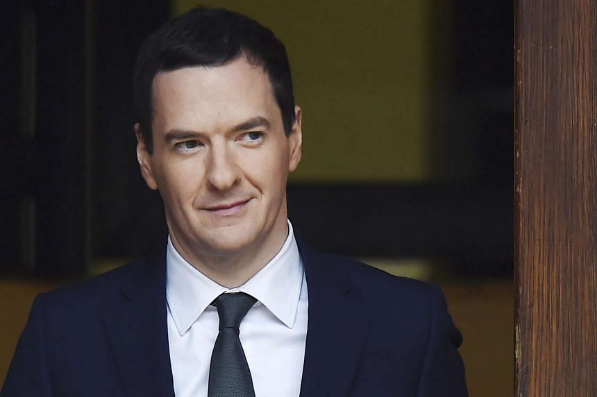 Chancellor George Osborne leaves the Treasury to present the Autumn Statement to Parliament.