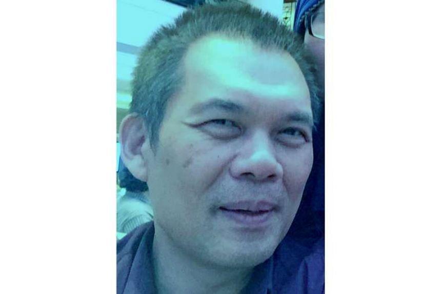Mr Sim Tharn Chun had aches and diarrhoea three days after he ate raw fish porridge, says his wife.