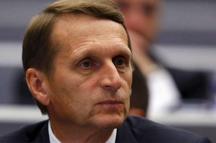 Lower House speaker Sergei Naryshkin.