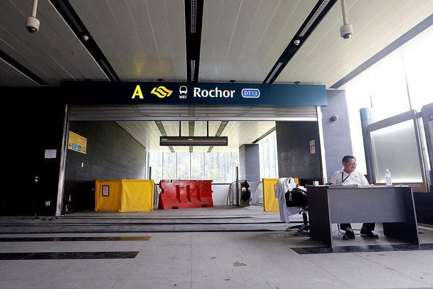 The upcoming Rochor station.