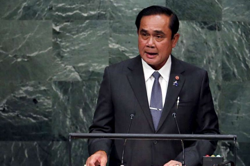 Thailand's Prime Minister Prayut Chan-o-cha accused the United Front for Democracy (UDD) of being behind a plot to attack government figures.