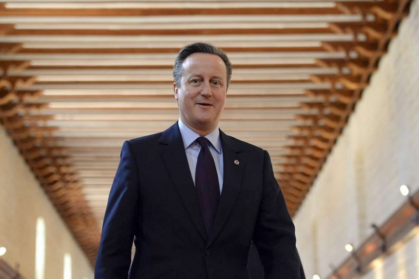Britain's Prime Minister David Cameron arrives for the opening ceremony of the Commonwealth Heads of Government Meeting (CHOGM) in Valletta, Malta on Nov 27, 2015.