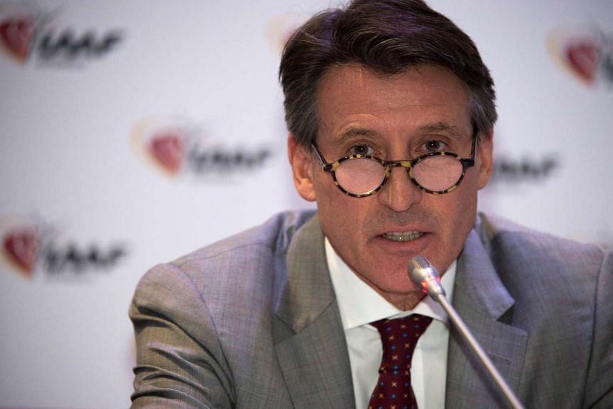 """IAAF president Sebastian Coe (above) has said he wants """"engagement not isolation"""" to settle the doping scandal."""
